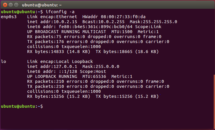 Ubuntu Command Line Interface